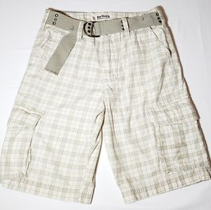 Urban PIPELINE Plaid Men's Cargo Shorts Size 33